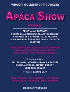 apáca turné poszter